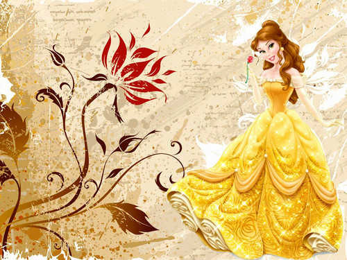 Char Anj Wallpaper Probably Containing A Bouquet Called Belle