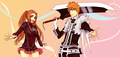 Bleach vs. DGM by Rei-Ami - ichigo-and-orihime fan art
