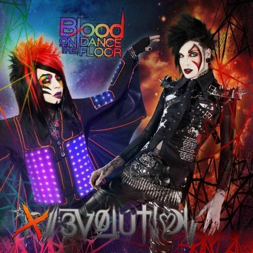 Blood on the dancefloor Evolution Album Picture