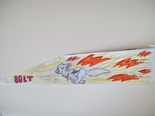 Bolt Paper Airplane side 2
