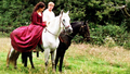 Bradley and Angel - Behind the Scenes - merlin-on-bbc photo
