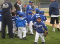 Brother's first tee-ball game - los-angeles-dodgers photo