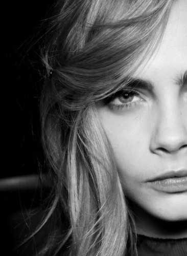Cara Delevingne Hintergrund containing a portrait entitled Cara♥