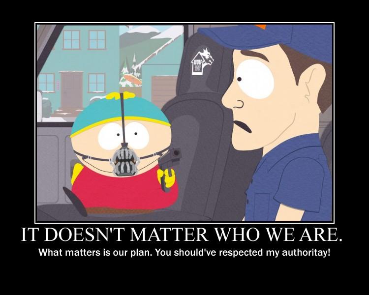Cartman as Bane