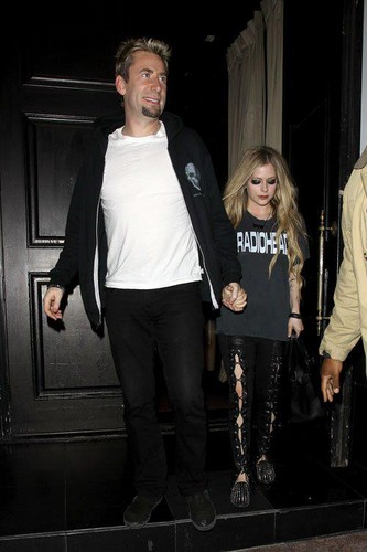 Chad Kroeger and Avril Lavgine (April, 19 th, 2013)