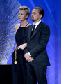 Charlize &amp; Leo Dicapreo at GLAAD Media Awards 2013 - charlize-theron photo