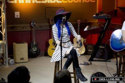 Cher in Kidd Kraddick Studio.