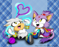 Chibi Silvaze Couple - silvaze photo