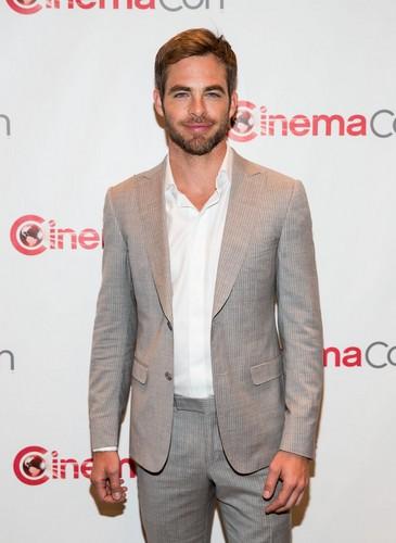 Chris Pine   CinemaCon 2013