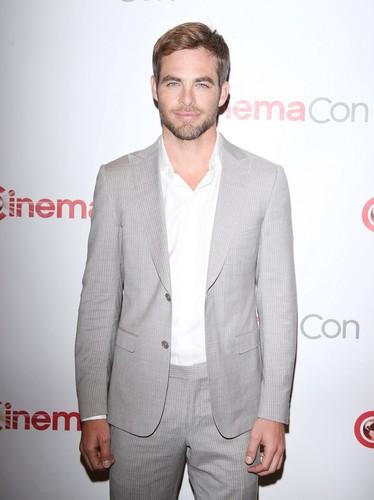 Chris Pine | CinemaCon 2013