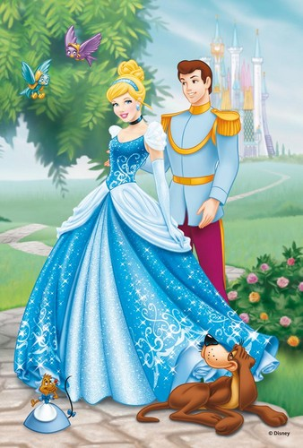 Lọ lem and Prince Charming