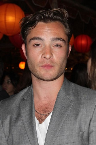 Ed Westwick wallpaper possibly containing a business suit titled City Year Los Angeles' Spring Break - April 20, 2013