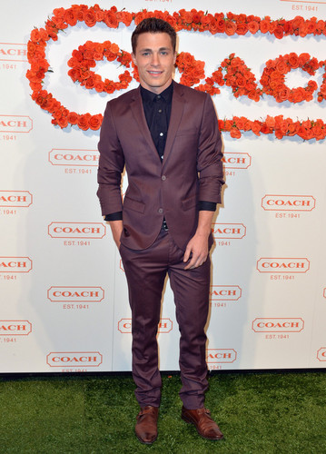 Colton Haynes attends the 3rd Annual Coach Evening to benefit Children's Defense Fund at Bad Robot