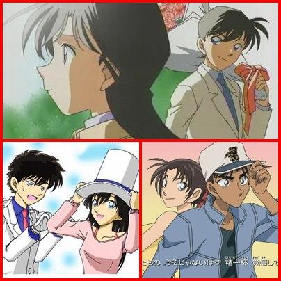 Couples In Detective Conan<3