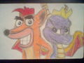 Crash and Spyro