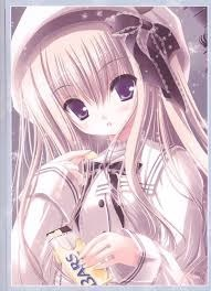 Kawaii Anime wallpaper titled Cute anime girl