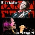 Daddy & Lisa - elvis-aaron-presley-and-lisa-marie-presley fan art