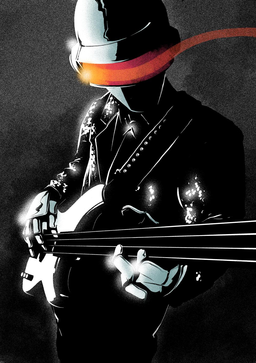 Daft Punk - Daft Punk Fan Art (34260065) - Fanpop