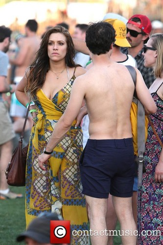 Darren Criss wallpaper entitled Darren Criss & Mia Swier at Coachella 2013