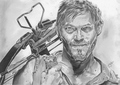 Daryl Dixon - the-walking-dead fan art
