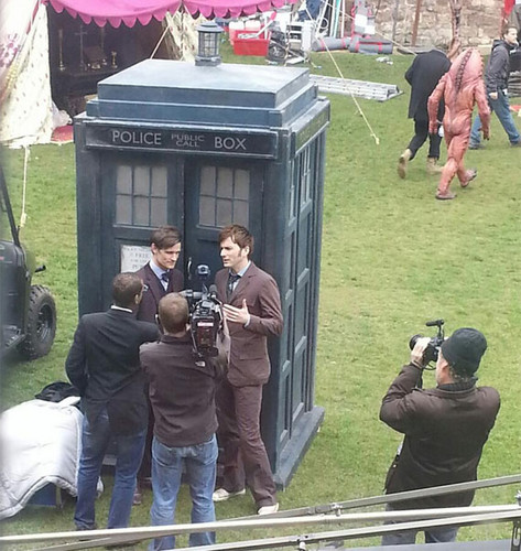 David and Matt Filming For Fiftieth! :D