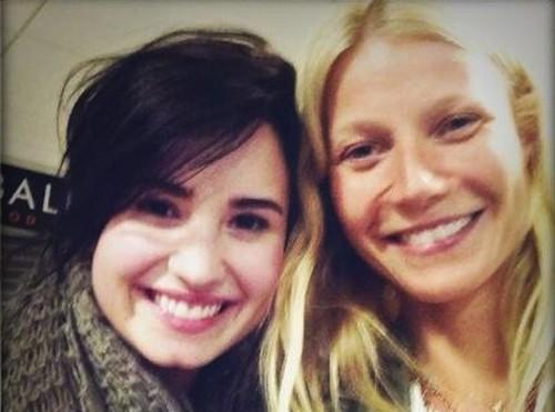 Demi Lovato and Gwyneth Paltrow