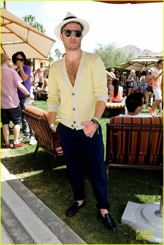 ED at ARMANI EXCHANGE and COACHELLA موسیقی FESTIVAL