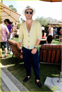 ED at ARMANI EXCHANGE and COACHELLA 音楽 FESTIVAL