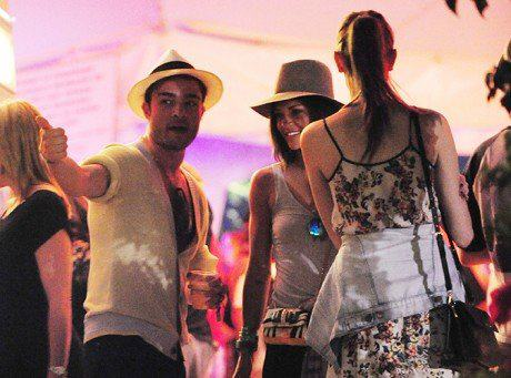 ED at ARMANI EXCHANGE and COACHELLA musik FESTIVAL
