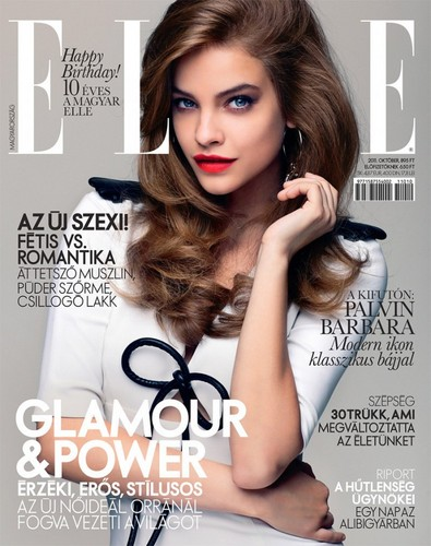 ELLE HUNGARY, OCTOBER 2011