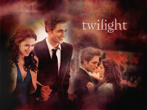 Edward and Bella wallpaper containing a business suit called Edward+Bella