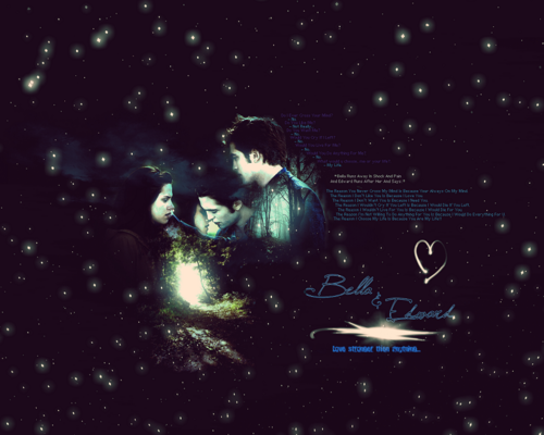 edward y bella fondo de pantalla with a concierto titled Edward+Bella