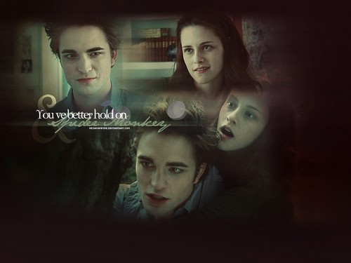Edward and Bella wallpaper called Edward+Bella