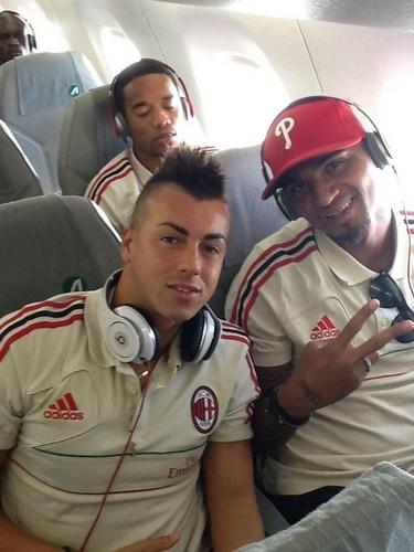 El Shaarawy & Boateng