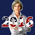 Elizabeth Warren 2016 - us-democratic-party fan art