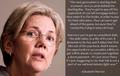 Elizabeth Warren debt - us-democratic-party photo