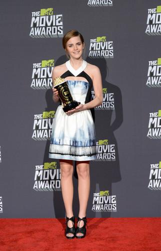 Emma Watson At mtv Movie Awards 2013