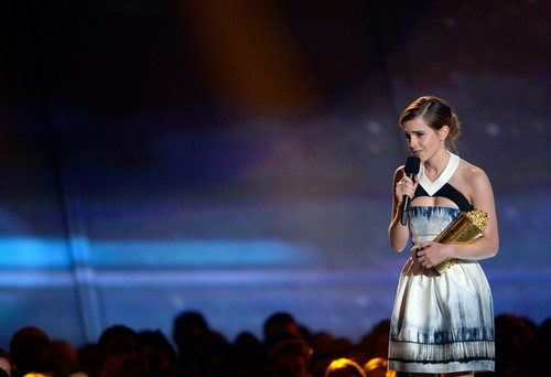 Emma Watson At MTV Movie Awards 2013