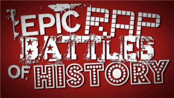 Epic Rap Battles of History wallpaper possibly with a sign entitled Erb