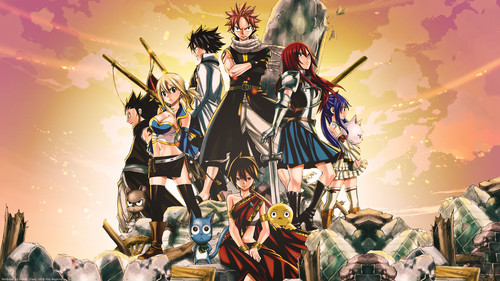 Fairy Tail fond d'écran called Fairy Tail~ ♥