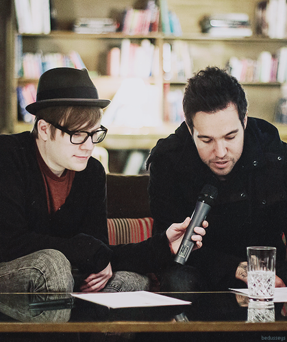 Patrick Stump wallpaper probably with a sign, a brasserie, and a bistro titled Fan arts