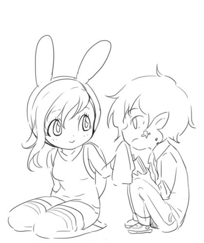 fiolee (fionna e marshal lee) wallpaper called Fionna & Marshall