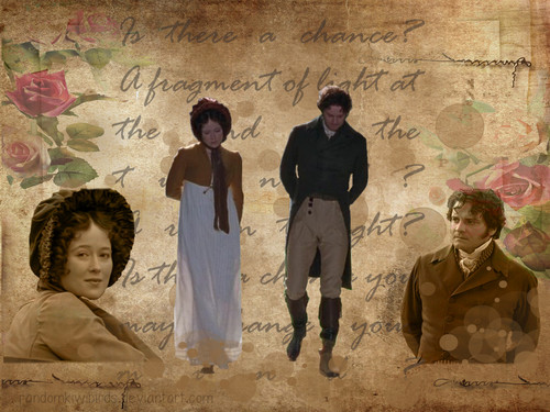 Pride and Prejudice wallpaper probably containing a well dressed person, a business suit, and a green beret called Fragment of Light