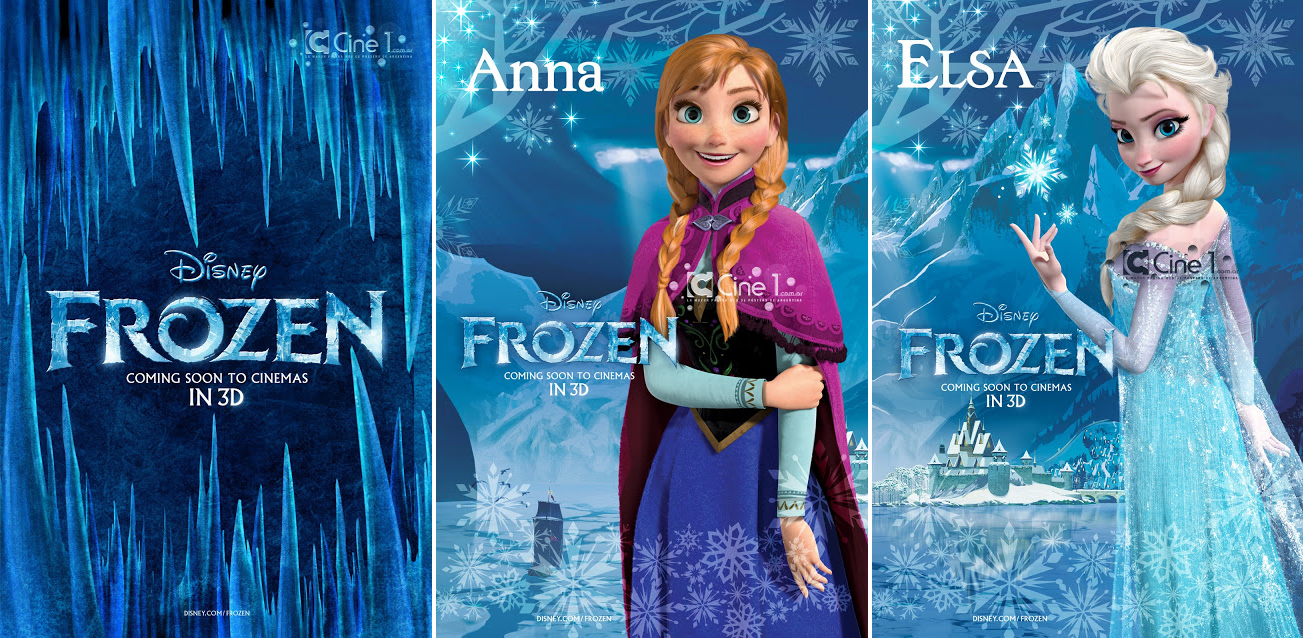 Frozen Posters Disney Princess
