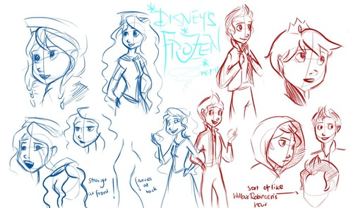 Frozen Sketches