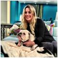 Gin and her dog - gin-wigmore photo
