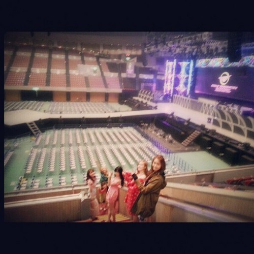 Girls' Generation's 音乐会 venue in Nagoya