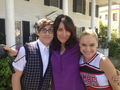 Glee -- BTS Photo from upcoming episodes - glee photo