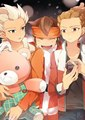 Goenji, Endou and Kidou - inazuma-eleven fan art