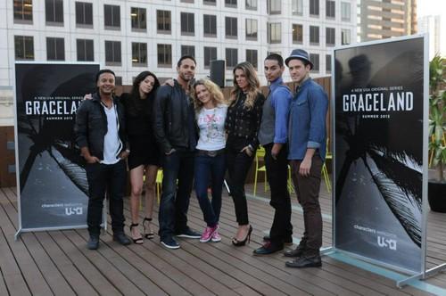 Graceland Cast at SXSW 2013